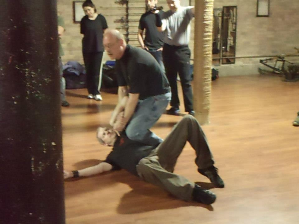 Mike takes Thayne down